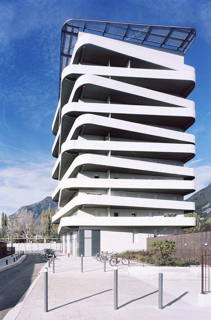 Balcony design ideas in apartment grenoble france home design and - Logements Quai De La Graille Grenoble France Ecdm Architectes Photo By Benoit