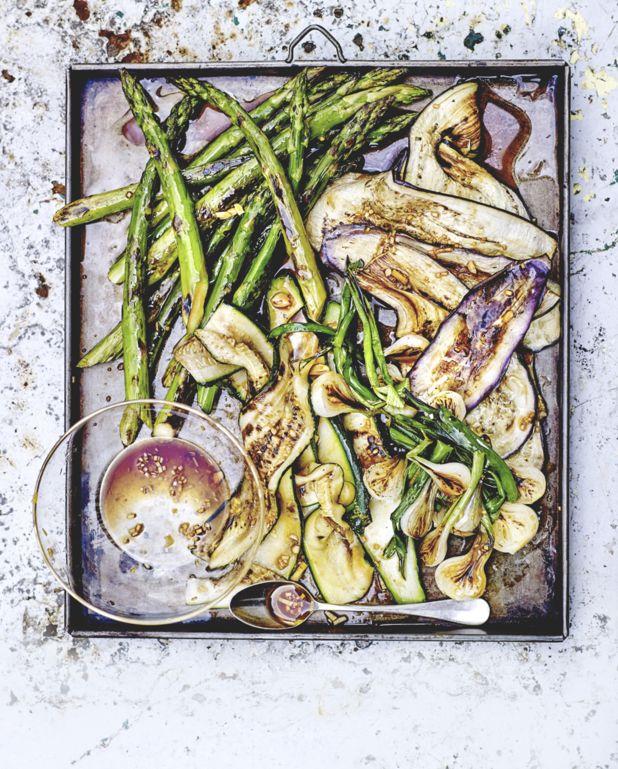 Légumes grillés, marinade à l'ail et sauce soja pour 4 personnes - Recettes Elle à Table