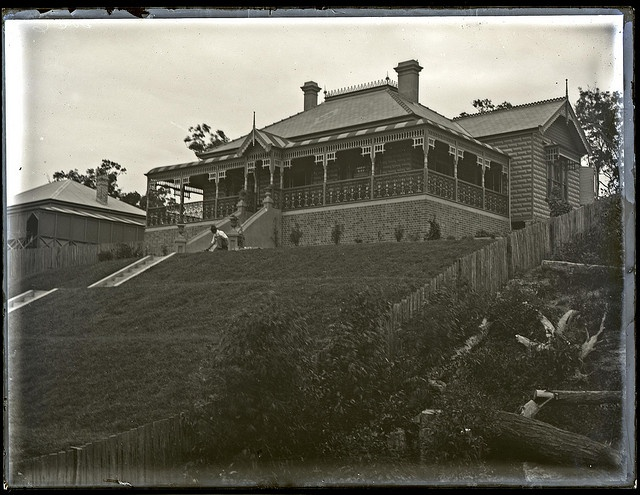 Duncan McGeachie's house, 109 Brighton Avenue Toronto, NSW, 26 February 1906