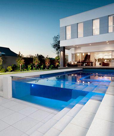 Transparent Swimming Pool. Gorgeous