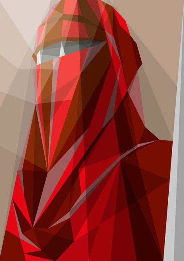 Ilustraciones Geométricas de Liam Brazier