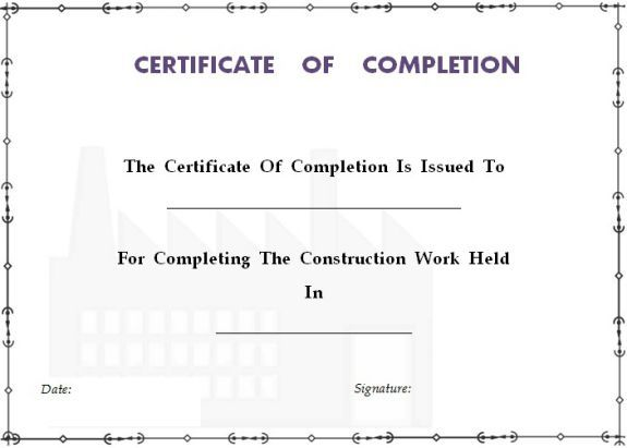 25 best ideas about certificate of completion template on for Cpe certificate template