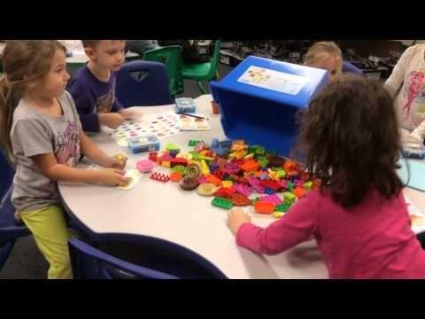 Kindergartners build a LEGO Thanksgiving dinner - YouTube