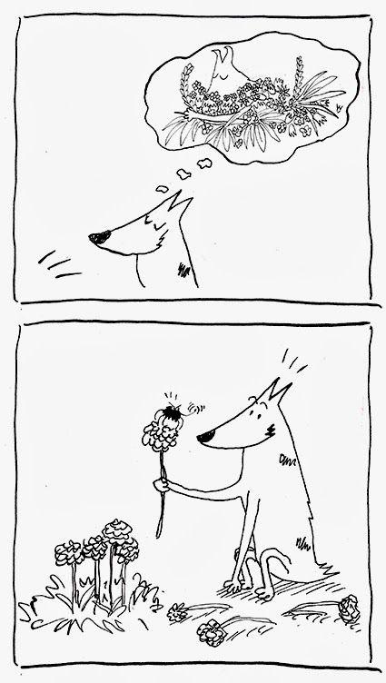 Spider #dog #spring #flower