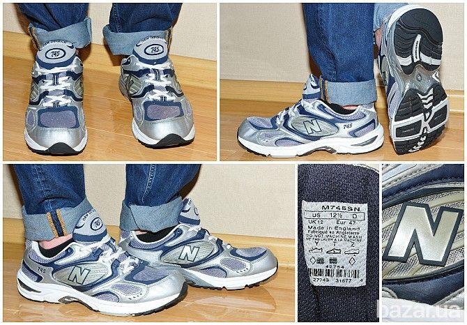 Мужские кроссовки New Balance 745 (45,5) England - Мужская обувь Киев на Bazar.ua