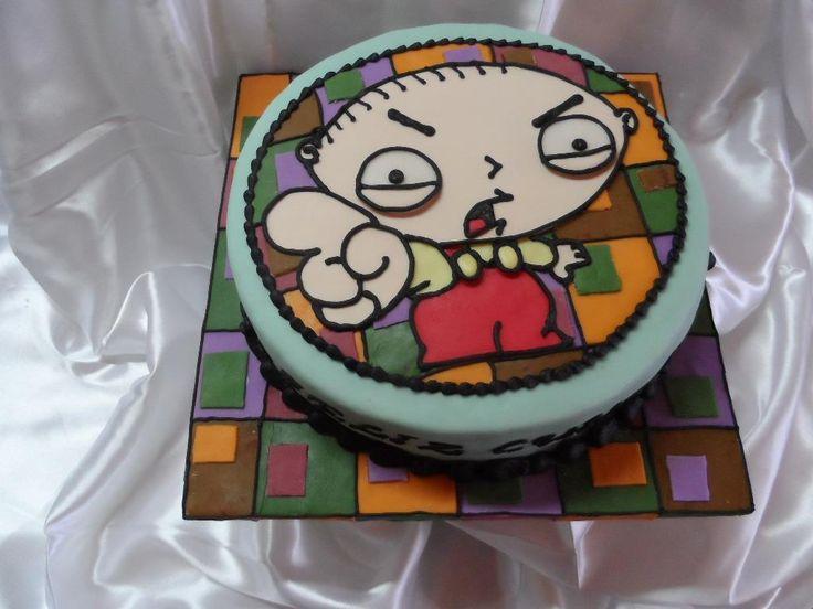 family guy cake-stewie