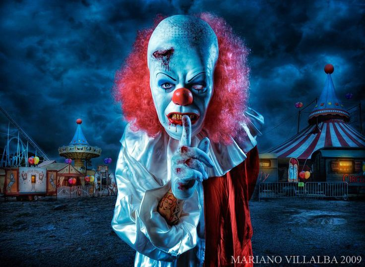 and you wonder why some people have a fear of clowns?!?!: Evil Clowns, Circus Theme, Carnival, Halloween Fun, Haunted Houses, Art, Abandoned Amusement Parks, Blog, Horror Movie