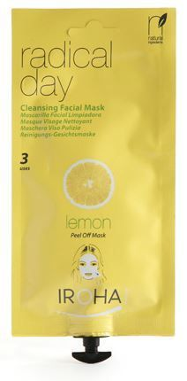 Iroha Facial Peel-Off Creamy Mask Cleansing Lemon .8 fl. oz. Beauty Time- $9.99 on http://www.faceandbodyshoppe.com