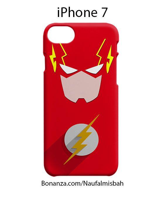 Flash DC Minimalist Superhero iPhone 7 Case Cover