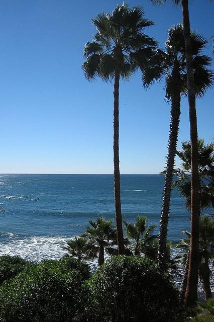 Laguna Beach and Newport Beach, California