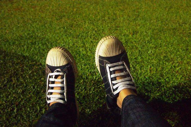 taman dan sepatu