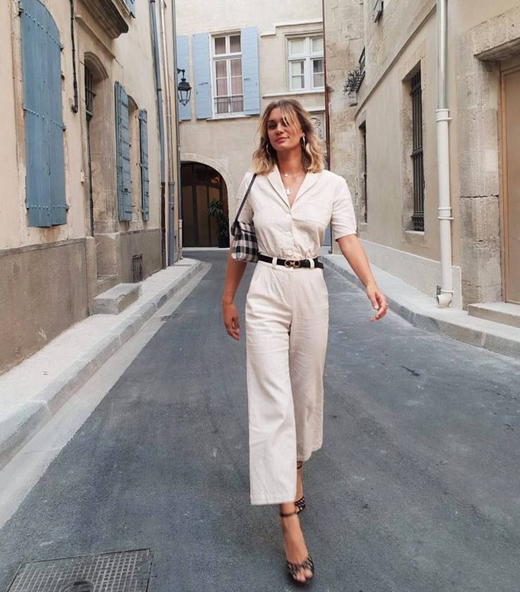 What all cool French women wear on Instagram in 10 perfect outfits