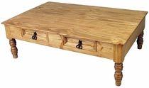 Pine Deco Coffee Table