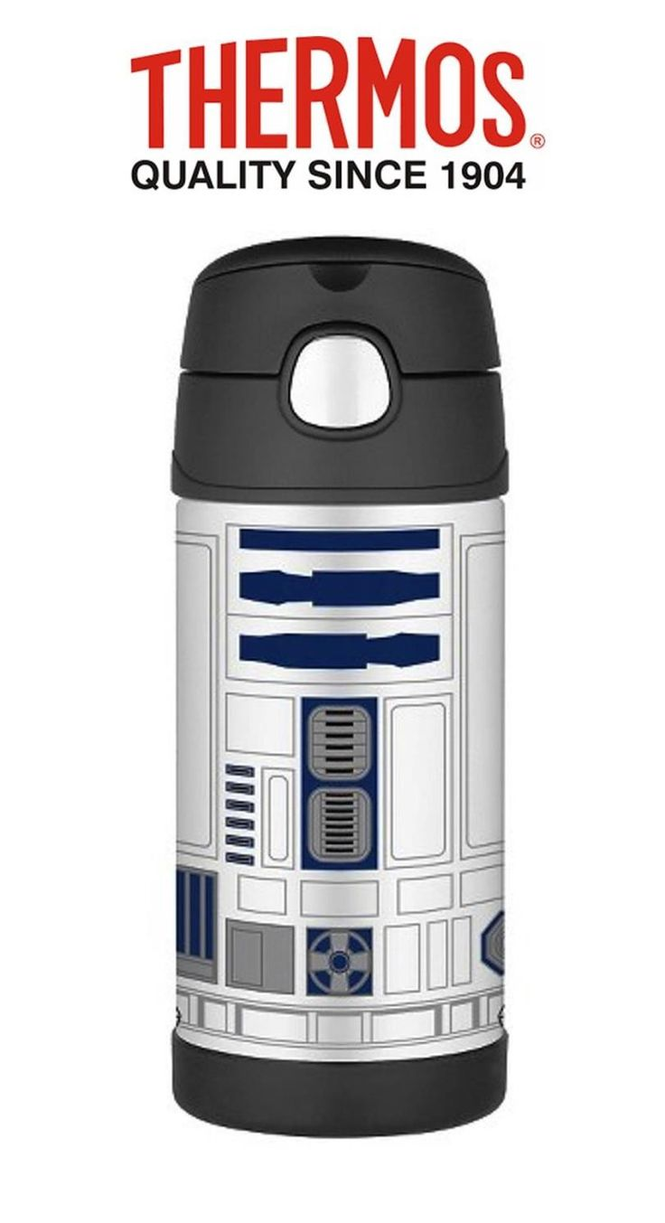 Buy THERMOS FUNTAINER 355ml DRINK BOTTLE R2D2 Online - Purplespoilz Australia