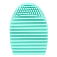 Egg Cleaning Glove MakeUp Washing Brush Scrubber Board Cosmetic Brush egg(Light green)