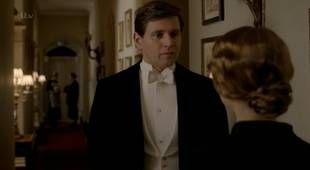 Tom Branson Talks to Edna Braithwaite in Season 4 Episode 3 Downton Abbey