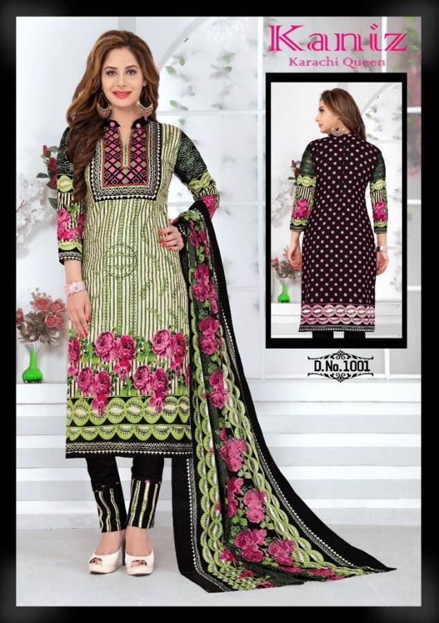 f4102b9ad5 Specification : NAME : Kaniz Karachi Cotton TOTAL DESIGN : 10 PER PIECE  RATE : 299