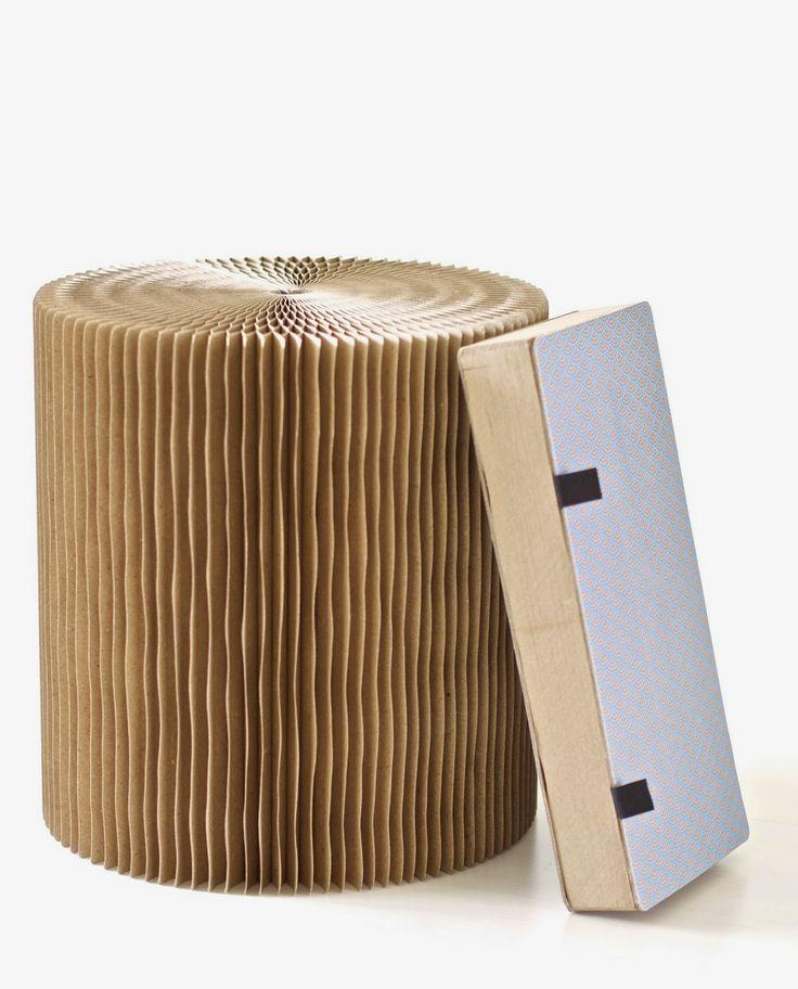 STIPLU.: Uusia tuulia ja tuoleja... / Recycled foldable stool