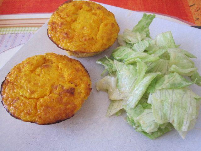 Flan carottes et lardons