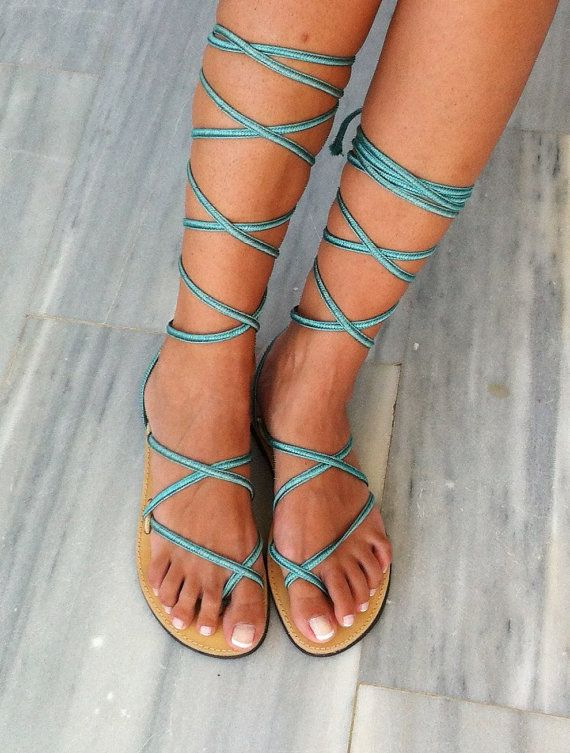 Greek Lace up Sandals, leather sandals, handmade, Women's sandals , gladiator sandals, wedding sandals