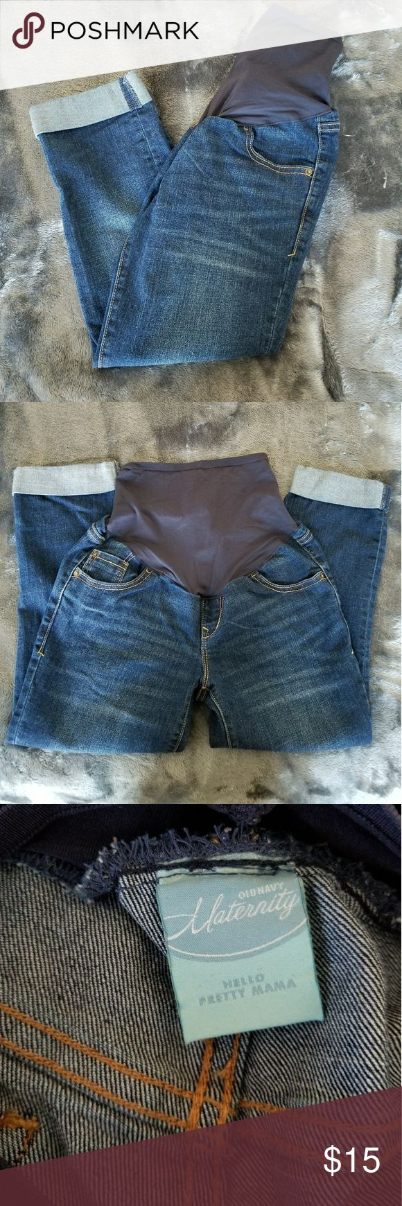 Old Navy Maternity Jeans Capris Size 2 Regular Old Navy Maternity Jeans Capris. Size 2 Regular. EUC- like new! Inseam measures 22 inches.  BUNDLE AND SAVE! Old Navy Jeans