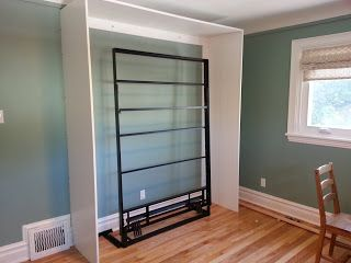 Renovations and Old Houses: DIY Ikea Murphy Bed                                                                                                                                                                                 More