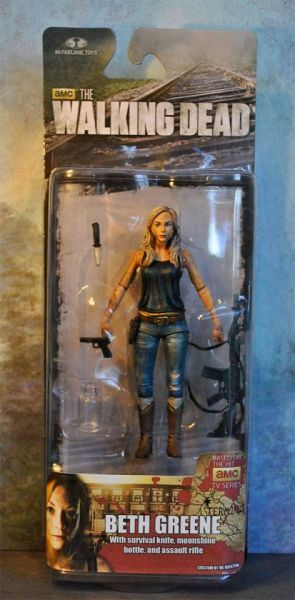Beth Greene the Walking Dead Tv Series Custom Action Figure