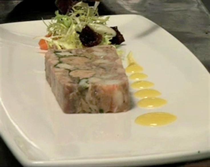 rabbit prawn foie gras terrine seafood pinterest. Black Bedroom Furniture Sets. Home Design Ideas