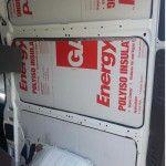 rigid foam board insul camper van