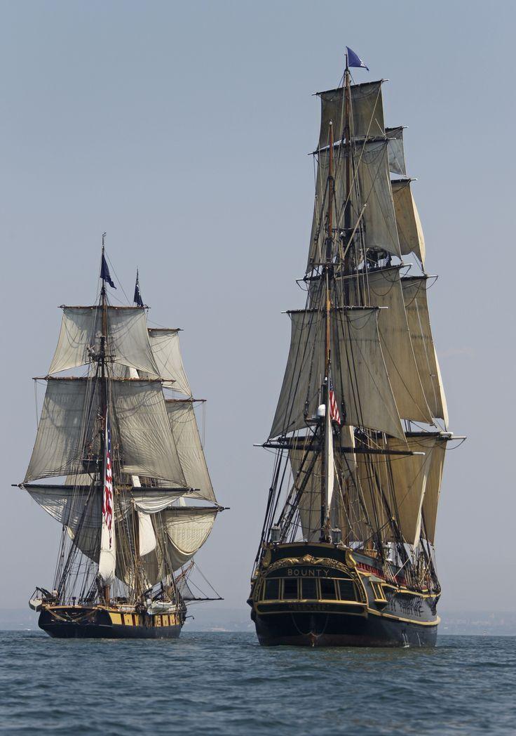 HMS Bounty and USS Niagara