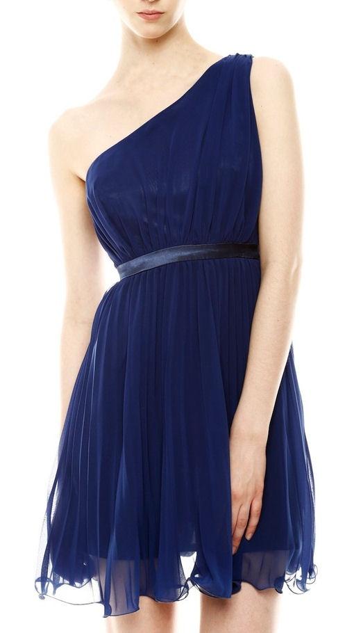 #Blue #Chiffon #Dress