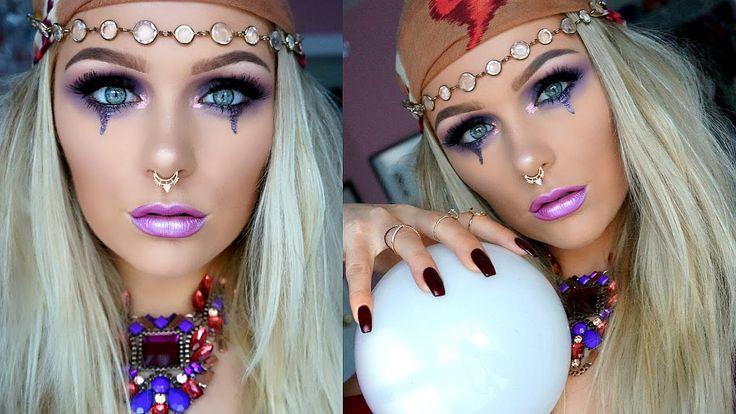 Glam Fortune Teller | Halloween Makeup Tutorial 2016 https://youtu.be/EGhDPv1GVCw