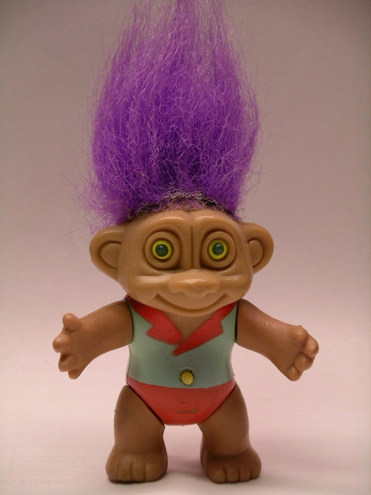A Troll Doll Por In The Late 60s And Early 70s With Hair All