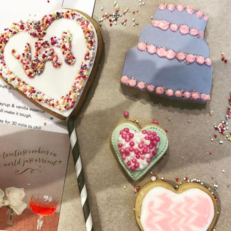 Yay! @nilaholden @etsyuk #EtsyatWestElm #biscuits #sprinkles #biscuitdecorating #workshop #london #yay
