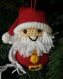 33Threads: Christmas Ornaments!!! Santa Claus