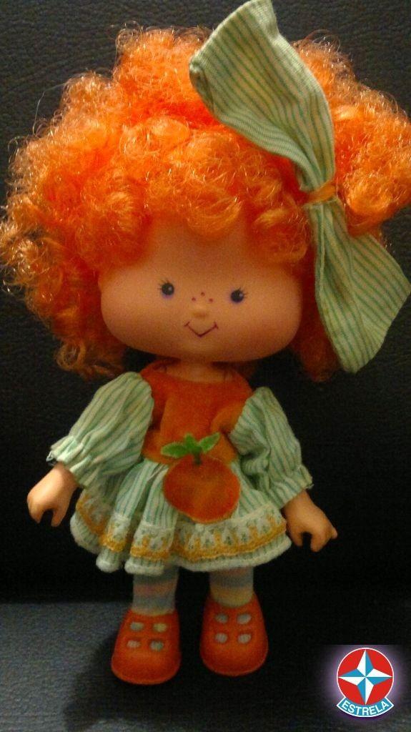 Boneca Laranjinha Coleção Moranguinho Da Estrela,anos 80. - R$ 140,00 no MercadoLivre