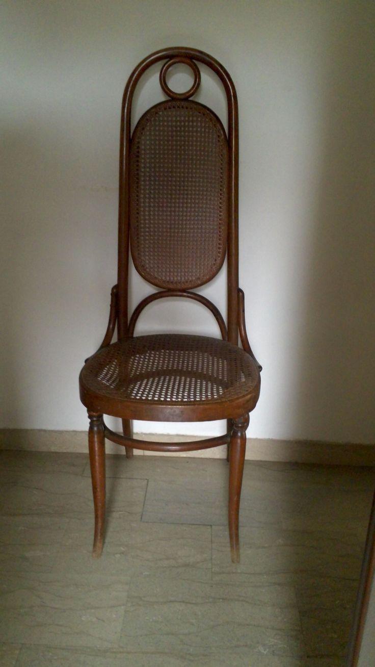 sedia Antonio Volpe modello 17 - 1890 ca,