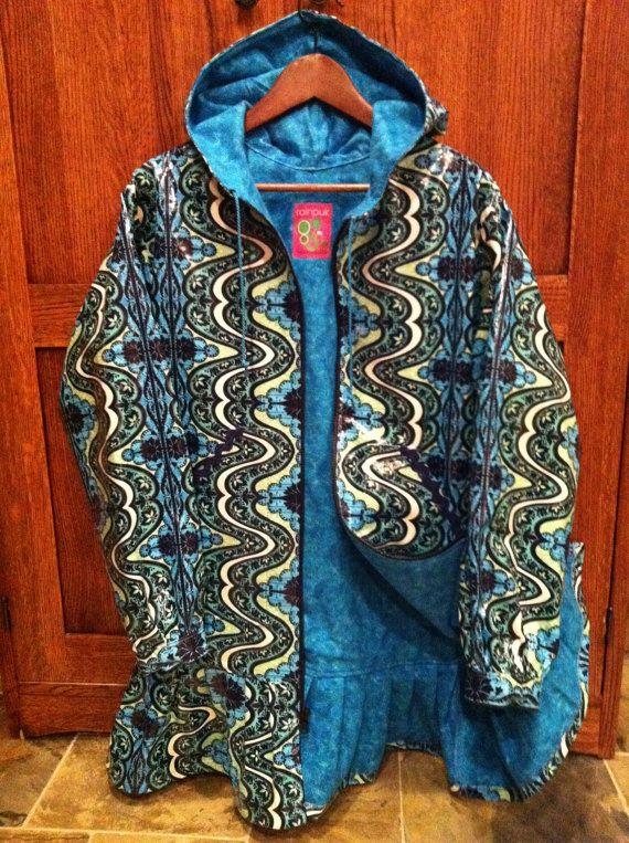Alaska Gypsy Rainpuk Kuspuk Raincoat raincoat for women by rainpuk