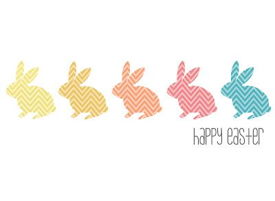 Easter Printable - would be cute on a paper bag