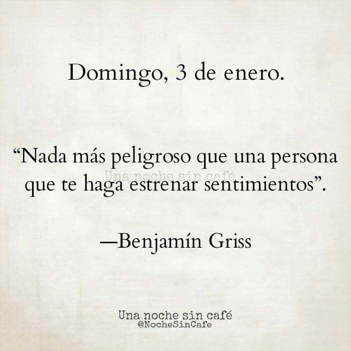 Benjamín griss @nochesincafe