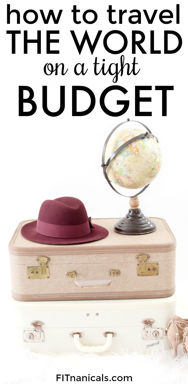 Traveling the world on a budget is easily doable and exciting! Check out this list to find out how you can make traveling a regular thing.