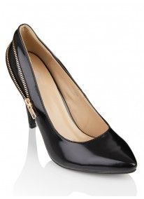 Diva | Courts with Zip Detail Black