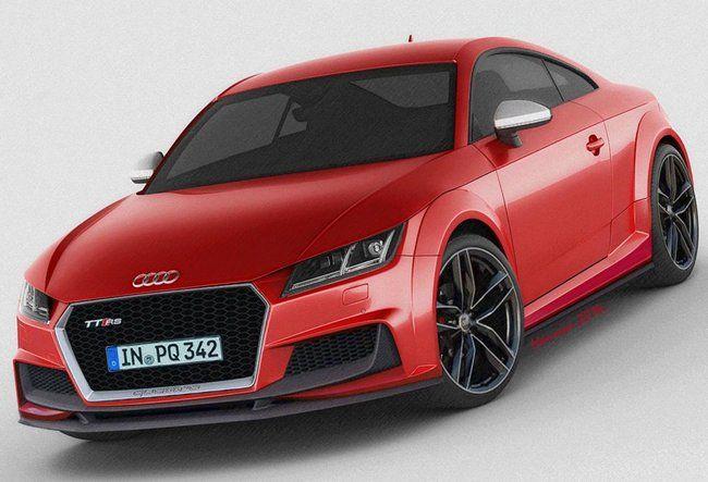 Audi tt rs rendering 2