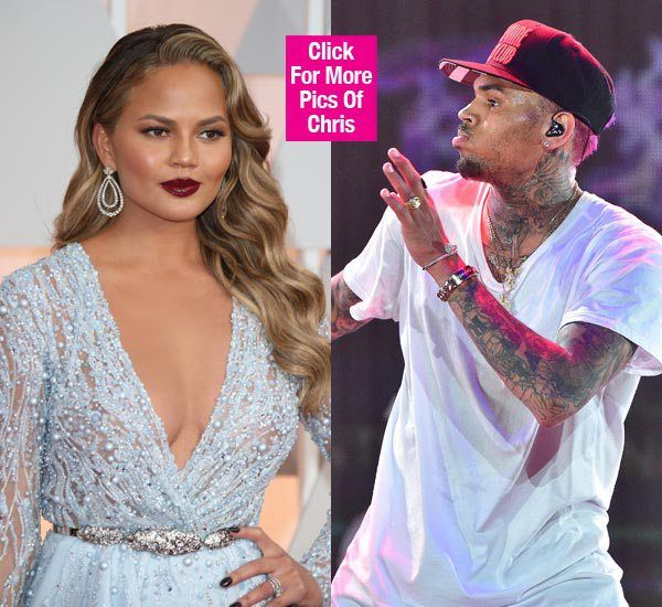 [*] Chris Brown & Chrissy Teigen Feuding? She Reacts After He Blocks Her On Twitter