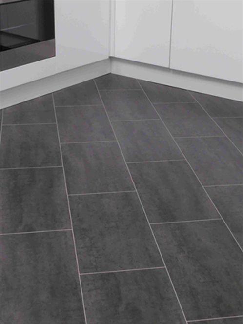 Black laminate tiles- like these, but considering laying tile diagonally...