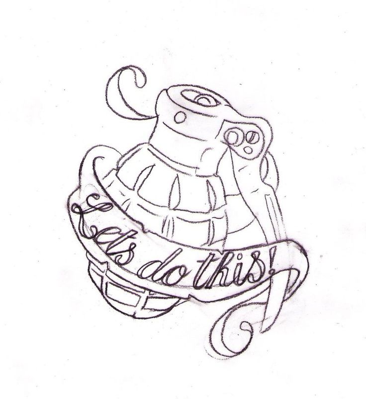 Call of Duty Grenade Tattoo by Nevermore-Ink on @DeviantArt