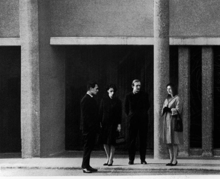 Four Persons Standing, 1999 - David Claerbout
