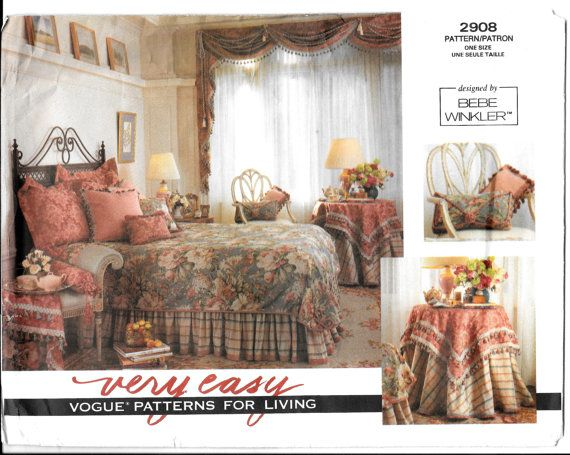 Vogue Sewing Pattern 2908 Uncut Triple Swag By SammyJoPatterns