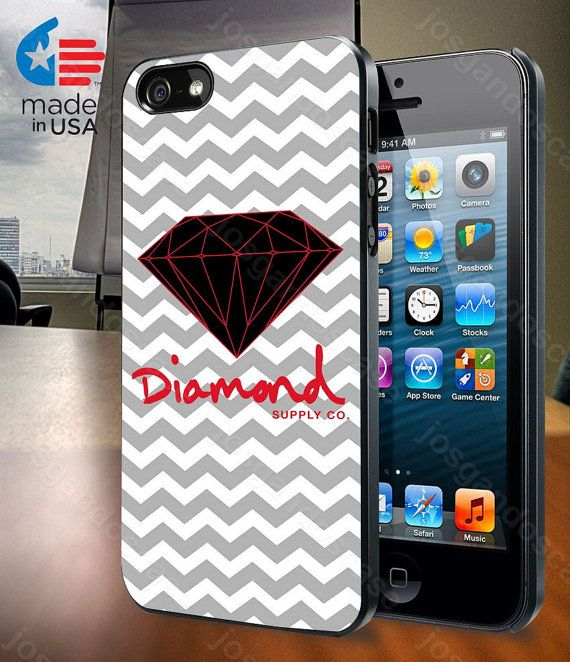 Red Diamond Supply Co Chevron for iPhone 4/4S by josgandoscase, $14.79