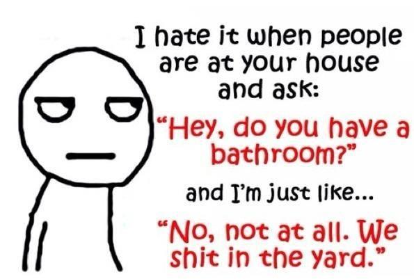 Lol! Always..